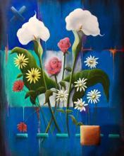 Composition bleue