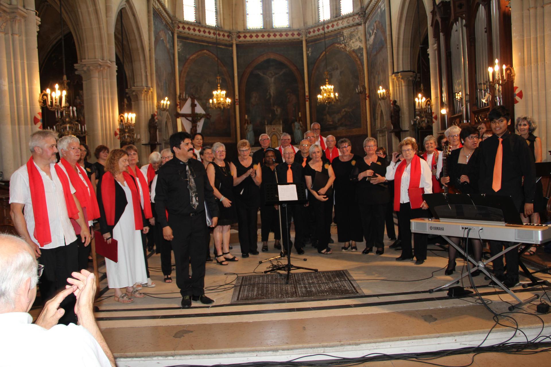 Concert en l'église Saint-Louis du 24 juin 2018